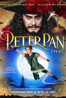 Allison Williams and Christopher Walken -NBC's Peter Pan