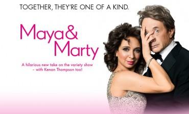 Big Stars Set for NBC's 'Maya & Marty' Premiere