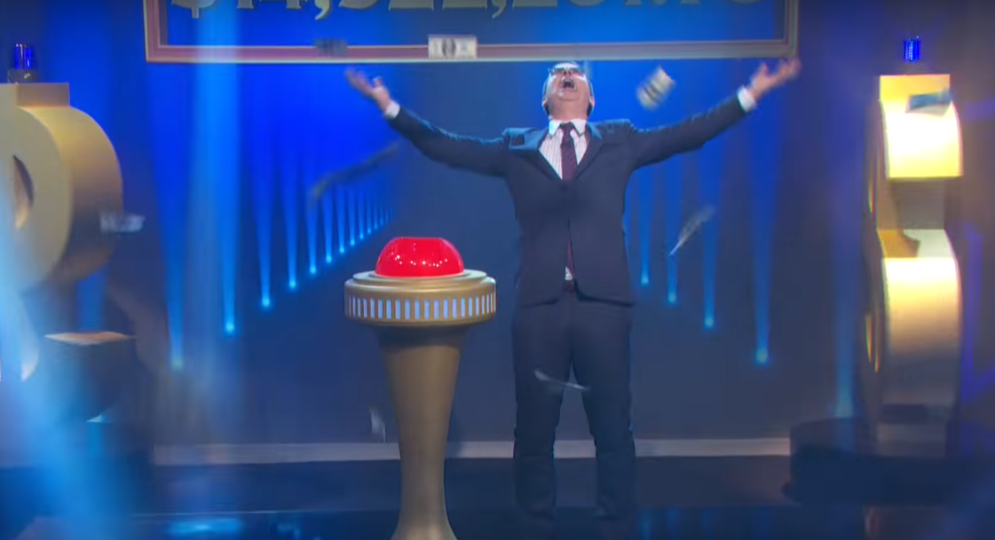 John Oliver Shatters Oprah's Giveaway Record on 'Last Week Tonight'