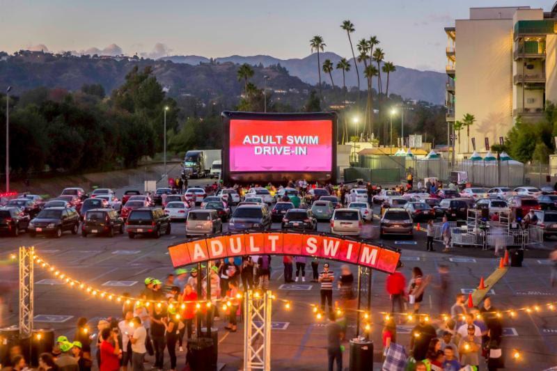 Adult Swim Announces Dates for 2016 Drive-In Tour