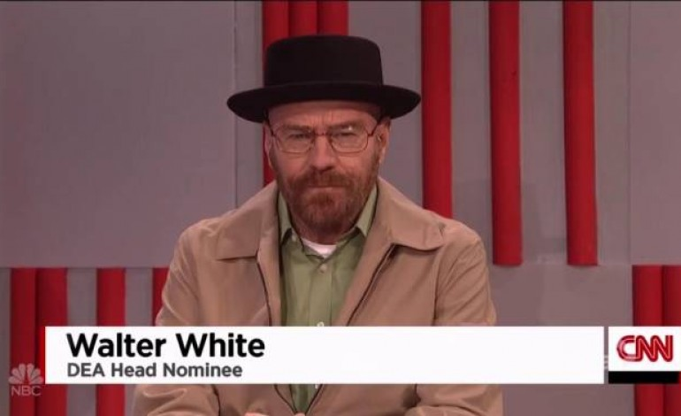 """""""Walter White"""" Appears on 'Saturday Night Live'"""