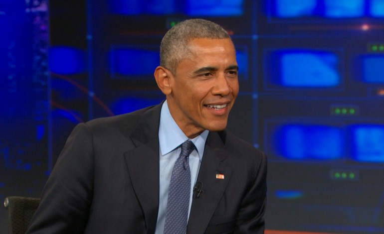President Obama's Final 'Daily Show' Appearance as President Premieres Next Week