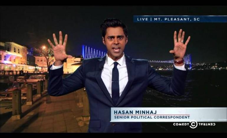 Netflix Orders Comedy Special for Hasan Minhaj