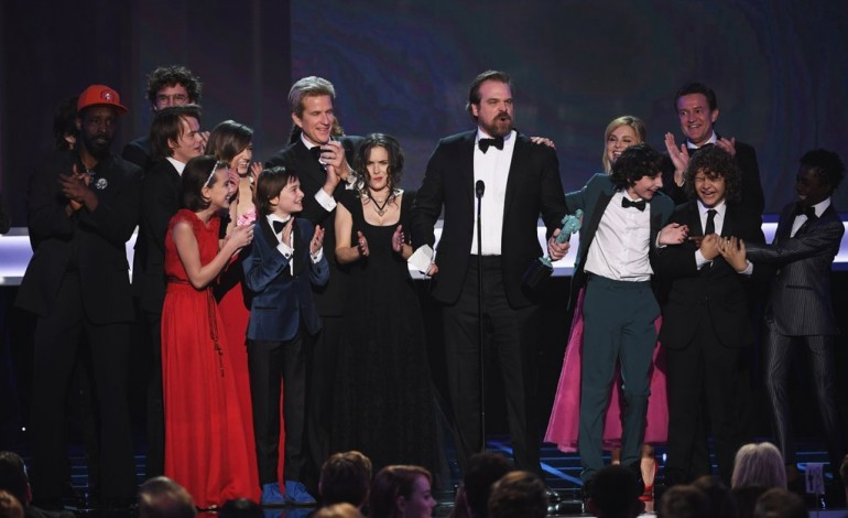 David Harbour from 'Stranger Things' Channels His Character in Screen Actors Guild Award Speech