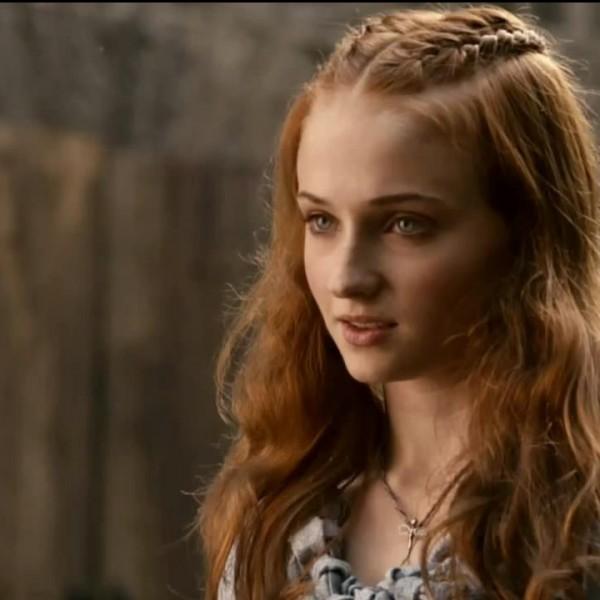 Sophie Turner plays the oldest Stark girl, Sansa.