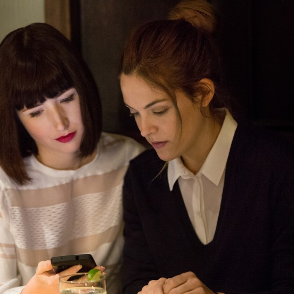 Riley Keough (right) in the dramatically heavy 'The Girlfriend Experience'