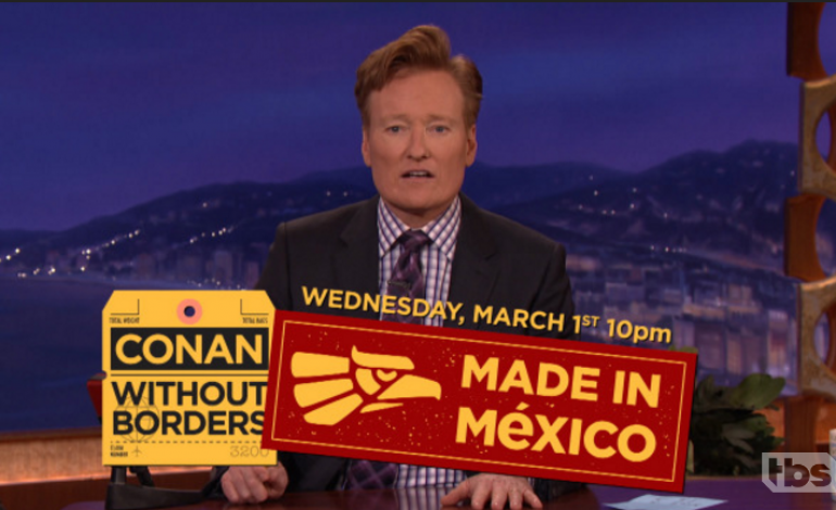 Conan O'Brien Films Guest Spot on Mexican Telenovela 'Mi Adorable Maldición'
