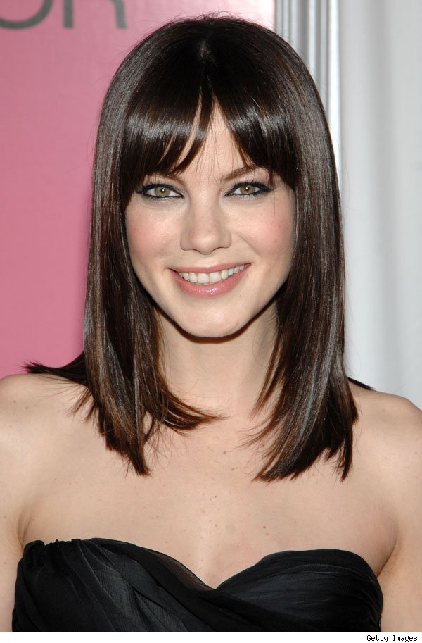 Michelle monaghan to star in ryan murphy s hbo pilot open - Melenas cortas con flequillo ...