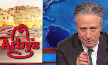 "Arby's Ad ""Forgives"" Jon Stewart on the Eve of 'Daily Show' Finale"