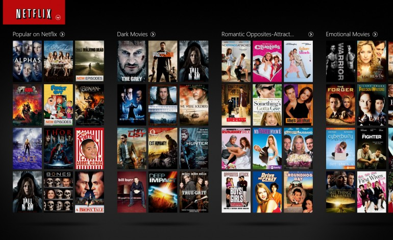 Netflix Sees 40% Decrease in Online Library Over the Past Four Years