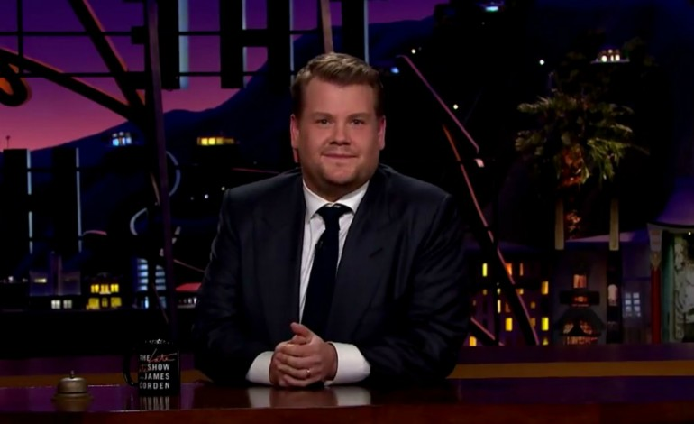 James Corden Is Set to Host the Grammy's