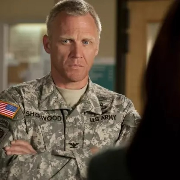 Frank Sherwood on TV series 'Army Wives' is played by Terry Serpico.
