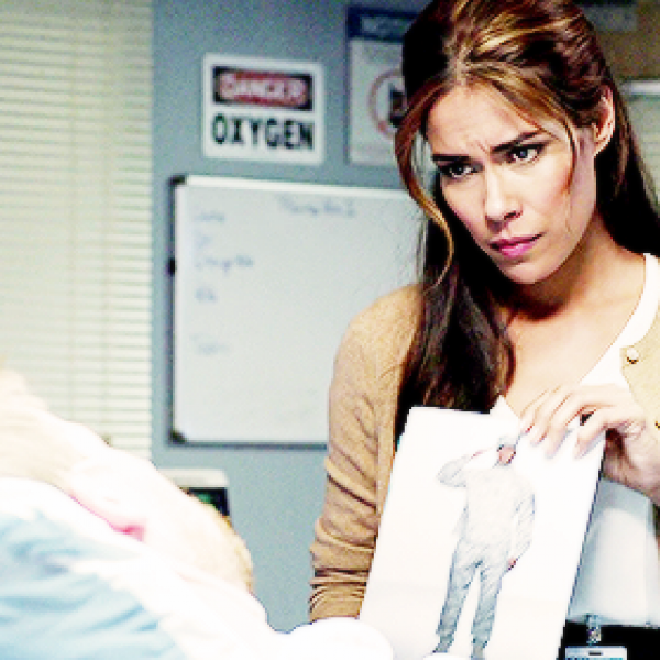 Daniella Alonso in her performance on medical drama 'The Night Shift'