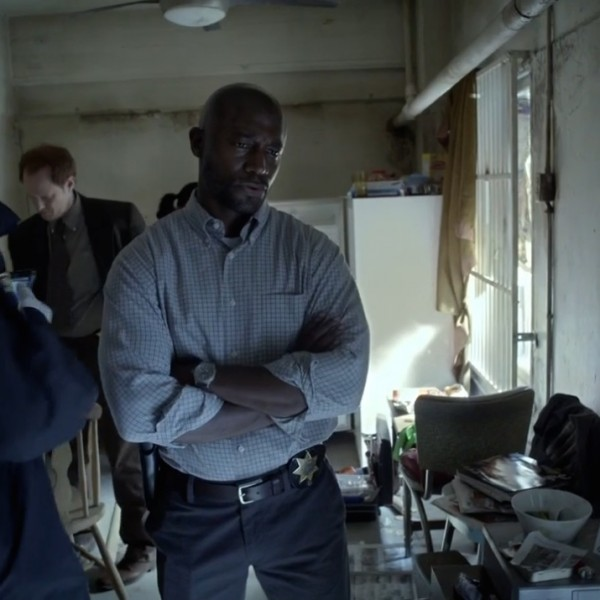 Taye Diggs also played Detective Terry English on series Murder in the First