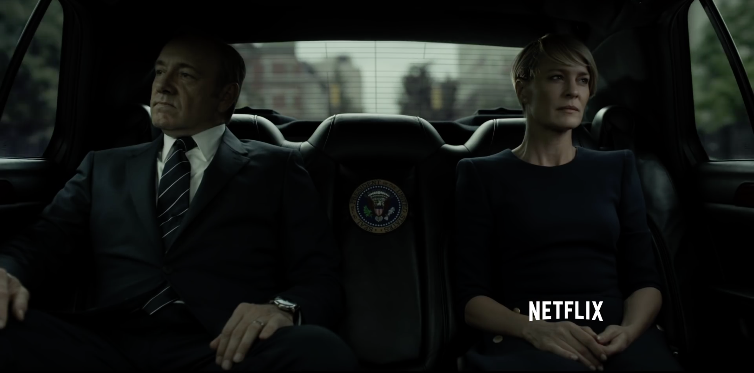 Robin Wright and Kevin Spacey Reveal Impact of Trump Presidency on 'House of Cards'