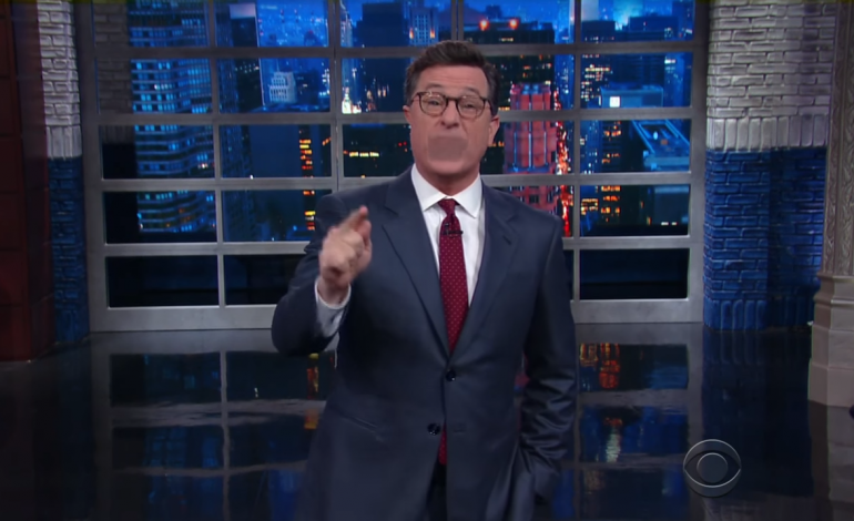 'Late Show' Host Stephen Colbert Under Fire for 'Homophobic' Trump Comment