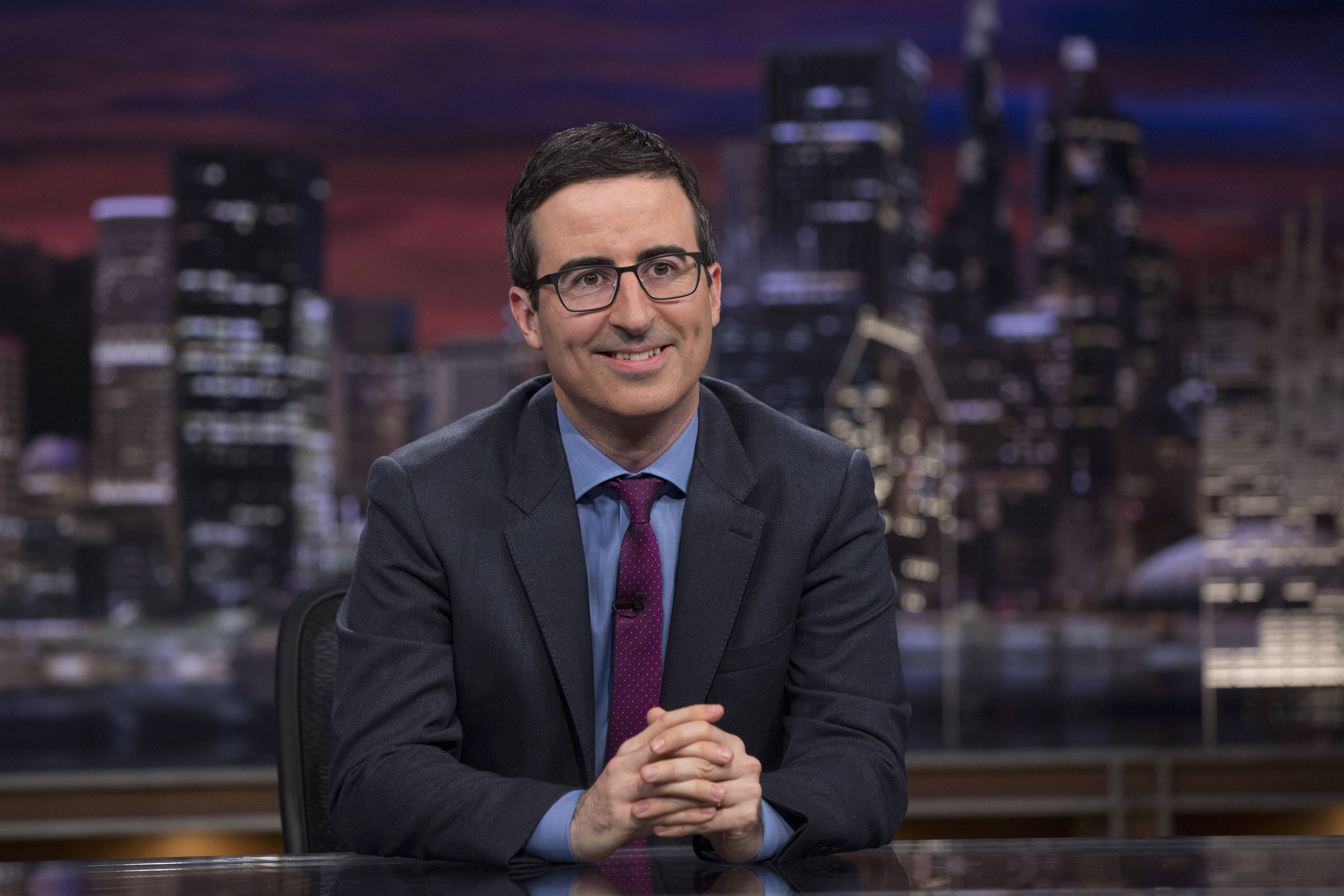 'Last Week Tonight with John Oliver' Renewed for Three More Seasons
